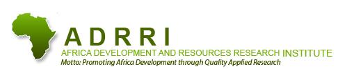 Africa Development and Resources Research Institute (ADRRI)